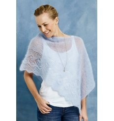 Permin Angel Strikkekit Poncho