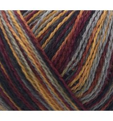 Permin Esther color fv. 883980 Bordeaux/Karry