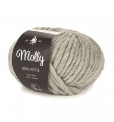 Mayflower Molly garn fv. 08 Cool grey