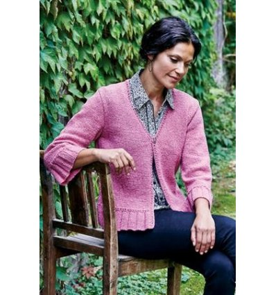 Strikkekit Zenta model 893307 Cardigan Str.S